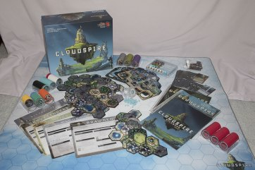 photos of the board game Cloudspire