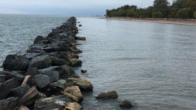 Rocks by the beach